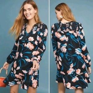 Anthropologie Maeve Ragonda Tunic Dress